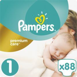 PAMPERS Premium Care 1 NEWBORN 88ks (2-5kg)