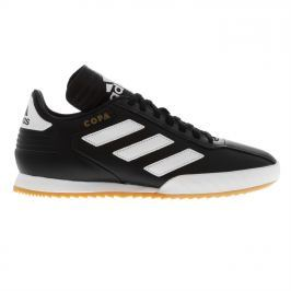 adidas Copa Super Mens Leather Trainers, Black/White, 41.3