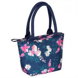 Miso Canvas Lunch Bag 84, Navy Floral, UNI