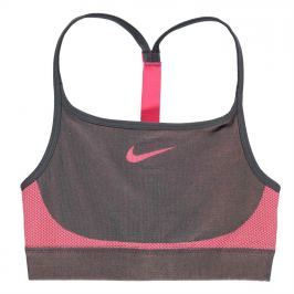 Nike Seamless Bra Junior Girls, Grey/Pink, 128