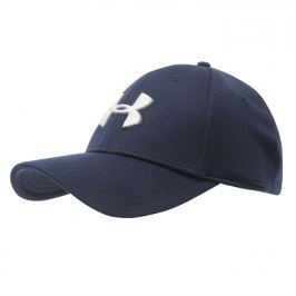 Under Armour Blitzing Mens Cap, Blue/White, M/L